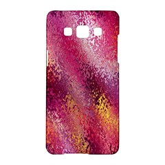 Red Seamless Abstract Background Samsung Galaxy A5 Hardshell Case  by Nexatart