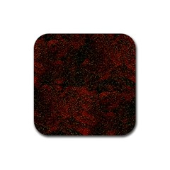 Olive Seamless Abstract Background Rubber Coaster (square)  by Nexatart