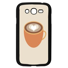 Artin Coffee Chocolate Brown Heart Love Samsung Galaxy Grand Duos I9082 Case (black) by Mariart