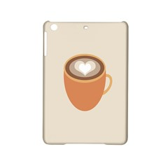 Artin Coffee Chocolate Brown Heart Love Ipad Mini 2 Hardshell Cases by Mariart