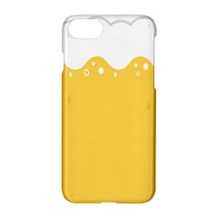 Beer Foam Yellow White Apple Iphone 7 Hardshell Case by Mariart