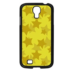 Yellow Star Samsung Galaxy S4 I9500/ I9505 Case (black) by Mariart