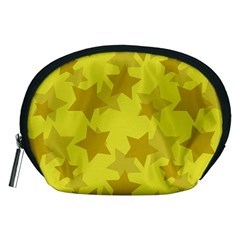 Yellow Star Accessory Pouches (medium)  by Mariart