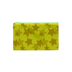 Yellow Star Cosmetic Bag (xs) by Mariart