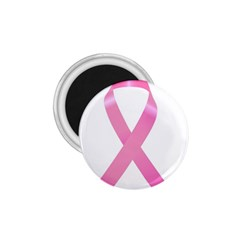 Breast Cancer Ribbon Pink 1 75  Magnets by Mariart