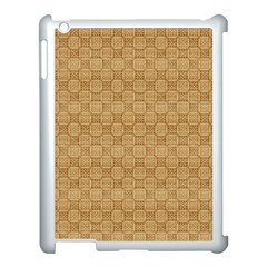 Chess Dark Wood Seamless Apple Ipad 3/4 Case (white) by Mariart