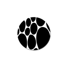 Dalmatian Black Spot Stone Golf Ball Marker (10 Pack) by Mariart