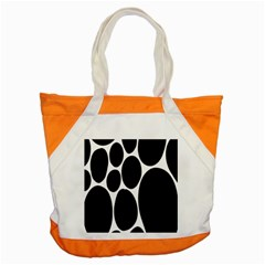 Dalmatian Black Spot Stone Accent Tote Bag by Mariart