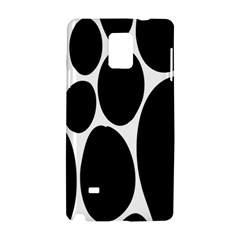 Dalmatian Black Spot Stone Samsung Galaxy Note 4 Hardshell Case by Mariart