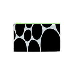 Dalmatian Black Spot Stone Cosmetic Bag (xs) by Mariart