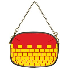 Firewall Bridge Signal Yellow Red Chain Purses (one Side)
