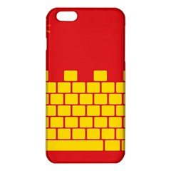 Firewall Bridge Signal Yellow Red Iphone 6 Plus/6s Plus Tpu Case by Mariart