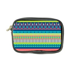 Aztec Triangle Chevron Wave Plaid Circle Color Rainbow Coin Purse by Mariart