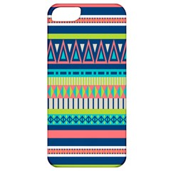 Aztec Triangle Chevron Wave Plaid Circle Color Rainbow Apple Iphone 5 Classic Hardshell Case by Mariart