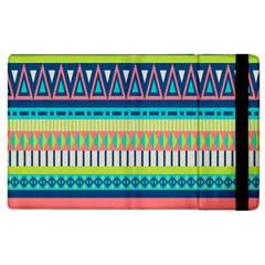 Aztec Triangle Chevron Wave Plaid Circle Color Rainbow Apple Ipad 2 Flip Case