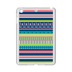 Aztec Triangle Chevron Wave Plaid Circle Color Rainbow Ipad Mini 2 Enamel Coated Cases by Mariart