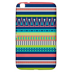 Aztec Triangle Chevron Wave Plaid Circle Color Rainbow Samsung Galaxy Tab 3 (8 ) T3100 Hardshell Case  by Mariart