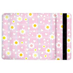 Flower Floral Sunflower Pink Yellow Ipad Air 2 Flip by Mariart