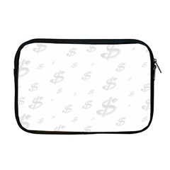 Dollar Sign Transparent Apple Macbook Pro 17  Zipper Case by Mariart