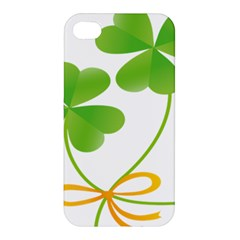 Flower Floralleaf Green Reboon Apple Iphone 4/4s Hardshell Case by Mariart