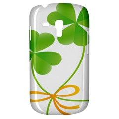 Flower Floralleaf Green Reboon Galaxy S3 Mini by Mariart