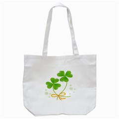 Flower Floralleaf Green Reboon Tote Bag (white) by Mariart