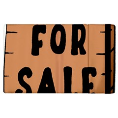 For Sale Sign Black Brown Apple Ipad 2 Flip Case by Mariart