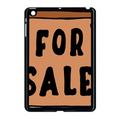 For Sale Sign Black Brown Apple Ipad Mini Case (black) by Mariart