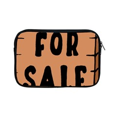 For Sale Sign Black Brown Apple Ipad Mini Zipper Cases by Mariart