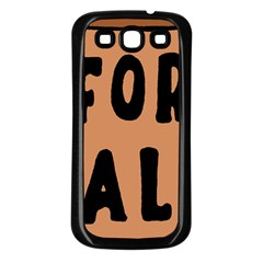 For Sale Sign Black Brown Samsung Galaxy S3 Back Case (black) by Mariart
