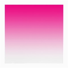 Gradients Pink White Medium Glasses Cloth by Mariart