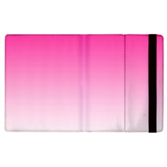 Gradients Pink White Apple Ipad 2 Flip Case