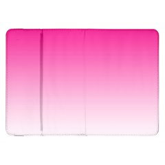 Gradients Pink White Samsung Galaxy Tab 8 9  P7300 Flip Case by Mariart