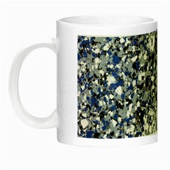 Electric Blue Blend Stone Glass Night Luminous Mugs by Mariart