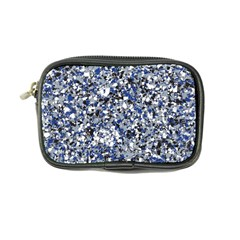 Electric Blue Blend Stone Glass Coin Purse by Mariart