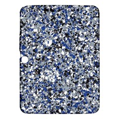 Electric Blue Blend Stone Glass Samsung Galaxy Tab 3 (10 1 ) P5200 Hardshell Case  by Mariart