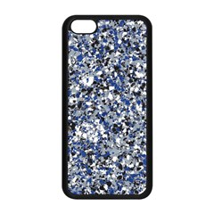 Electric Blue Blend Stone Glass Apple Iphone 5c Seamless Case (black) by Mariart