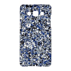 Electric Blue Blend Stone Glass Samsung Galaxy A5 Hardshell Case  by Mariart
