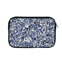 Electric Blue Blend Stone Glass Apple Macbook Pro 13  Zipper Case by Mariart