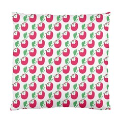 Fruit Pink Green Mangosteen Standard Cushion Case (one Side) by Mariart