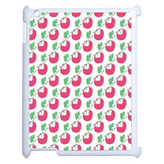 Fruit Pink Green Mangosteen Apple Ipad 2 Case (white) by Mariart