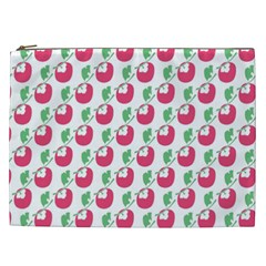 Fruit Pink Green Mangosteen Cosmetic Bag (xxl)  by Mariart
