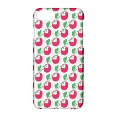 Fruit Pink Green Mangosteen Apple Iphone 7 Hardshell Case by Mariart