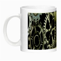 Gears Technology Steel Mechanical Chain Iron Night Luminous Mugs by Mariart
