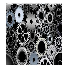 Gears Technology Steel Mechanical Chain Iron Shower Curtain 66  X 72  (large)