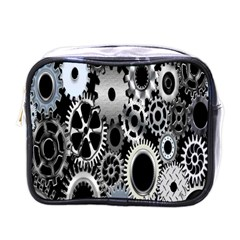 Gears Technology Steel Mechanical Chain Iron Mini Toiletries Bags by Mariart