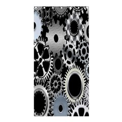 Gears Technology Steel Mechanical Chain Iron Shower Curtain 36  X 72  (stall)  by Mariart