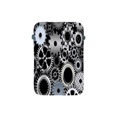 Gears Technology Steel Mechanical Chain Iron Apple Ipad Mini Protective Soft Cases by Mariart