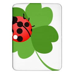 Insect Flower Floral Animals Green Red Samsung Galaxy Tab 3 (10 1 ) P5200 Hardshell Case