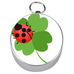 Insect Flower Floral Animals Green Red Silver Compasses by Mariart